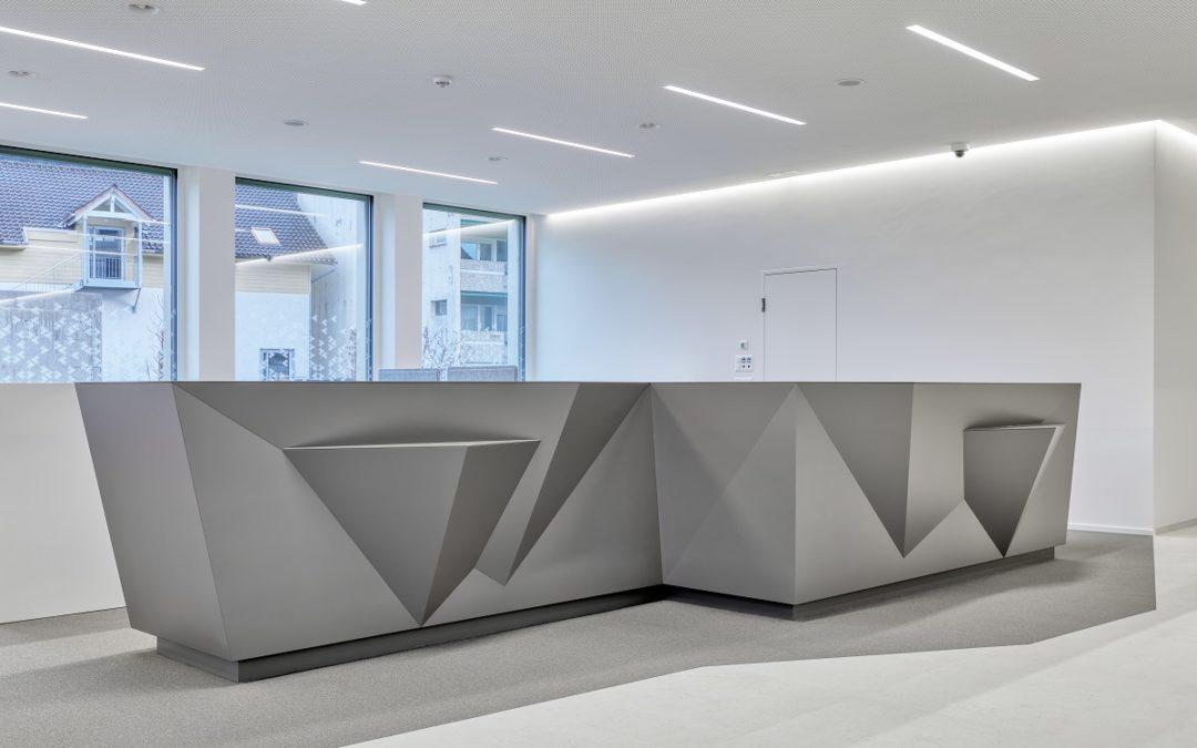 Empfangskorpus Clientis Bank Oberuzwil