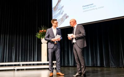 Diplomfeier Prisco Egli zum Holzingenieur FH