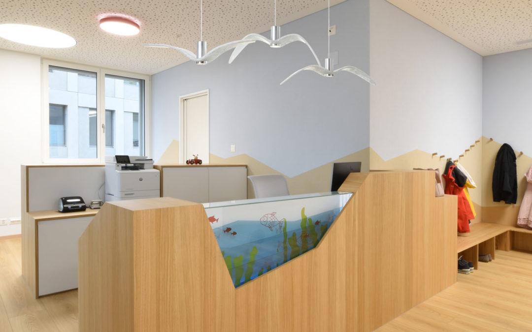 Innenausbau Kinderarztpraxis Oberuzwil