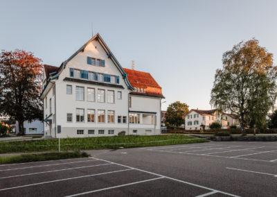 Schulhaus Oberuzwil, Schreinerei Egli AG, Niederstetten